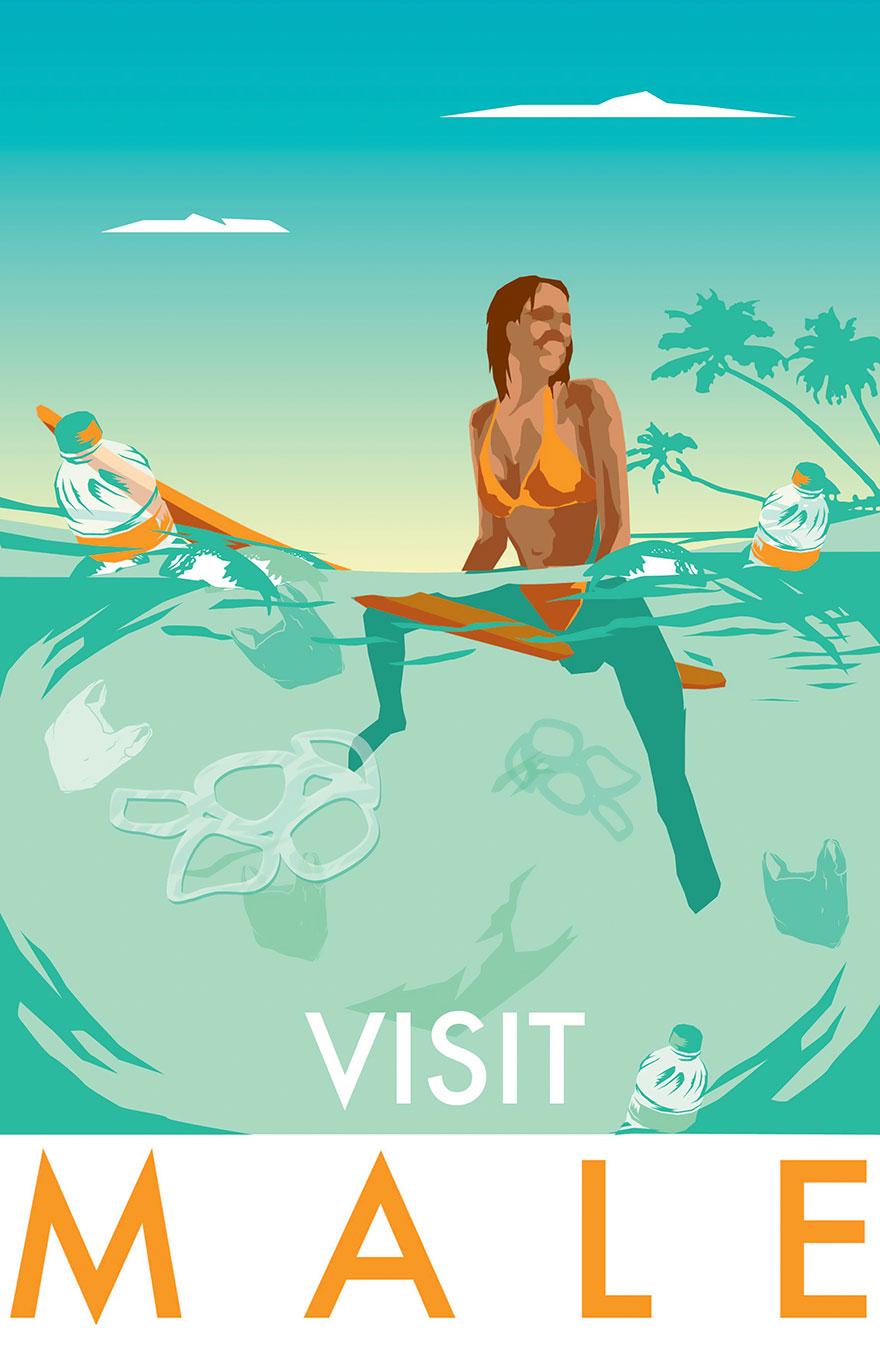 Слишком честные туристические ретроплакаты