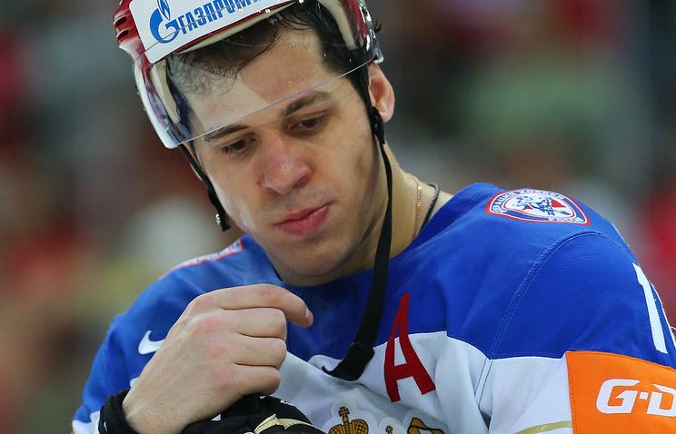 Евгений Малкин остался недоволен собственной игрой наКубке мира