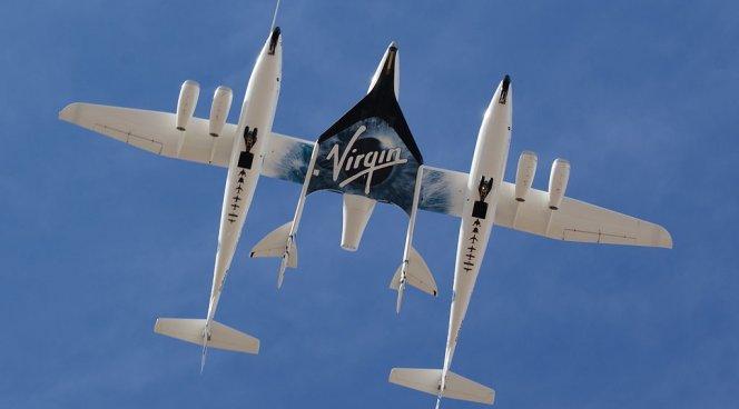 Тестирования нового космоплана Virgin Galactic прошли благополучно