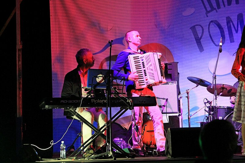 Аккордеон и клавиши - Джазовый концерт и Дни романтики на Вятке 2016