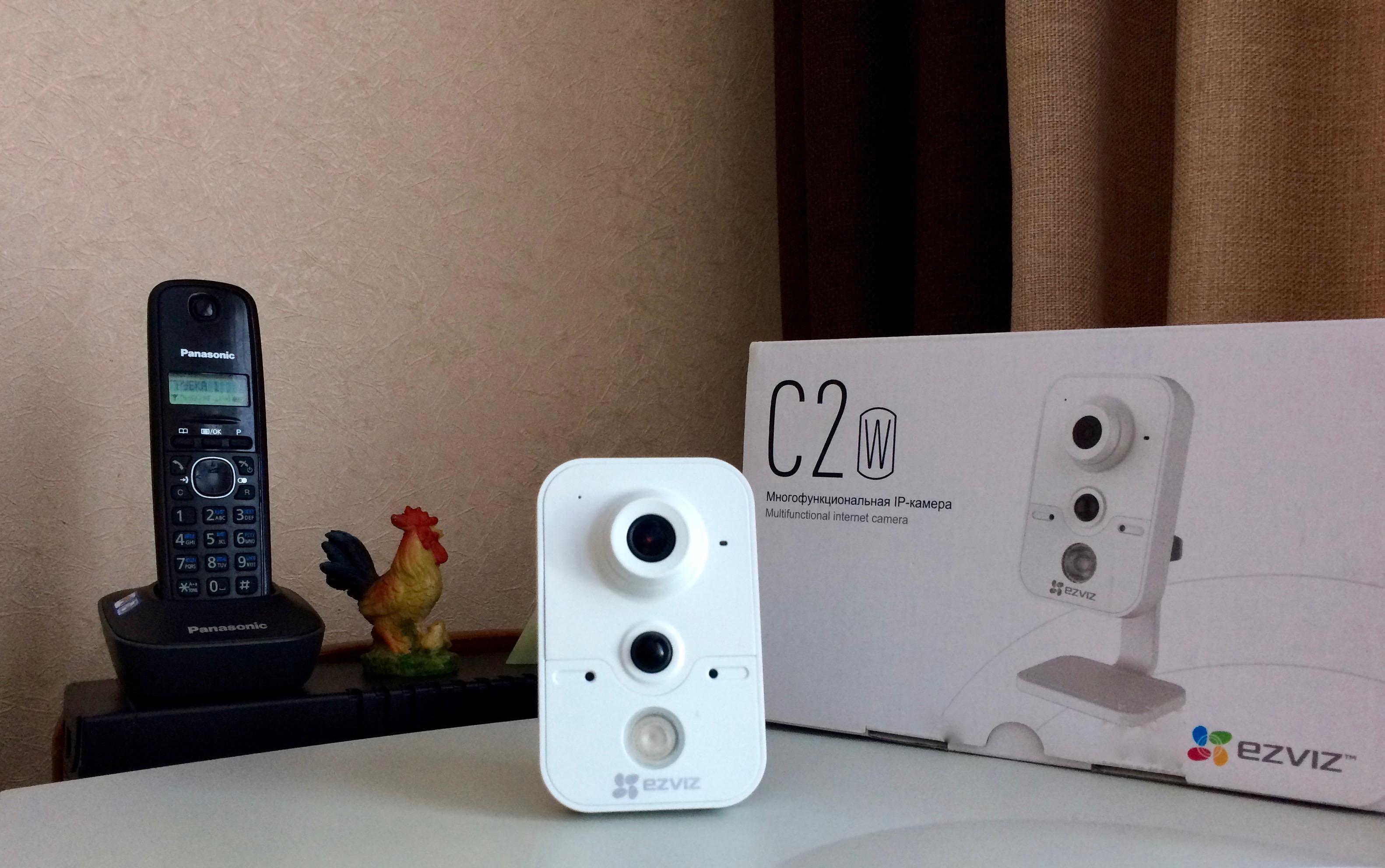 многофункциональная IP-камера Ezviz C2W