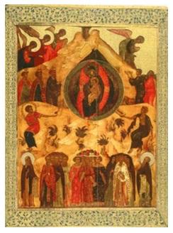 Икона Собор Богородицы