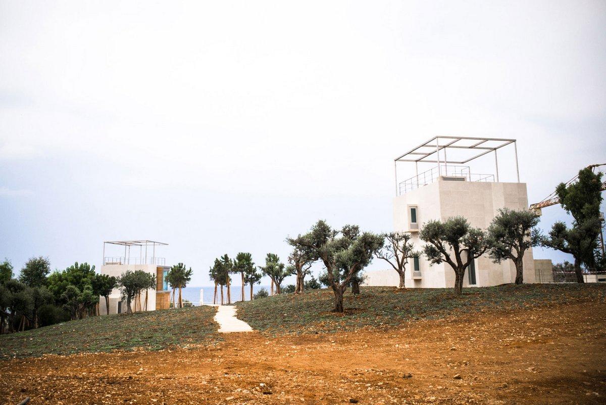 Дом-башня с ориентацией на море