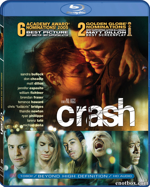 Столкновение / Crash [Director's Cut] (2004/BDRip/HDRip)