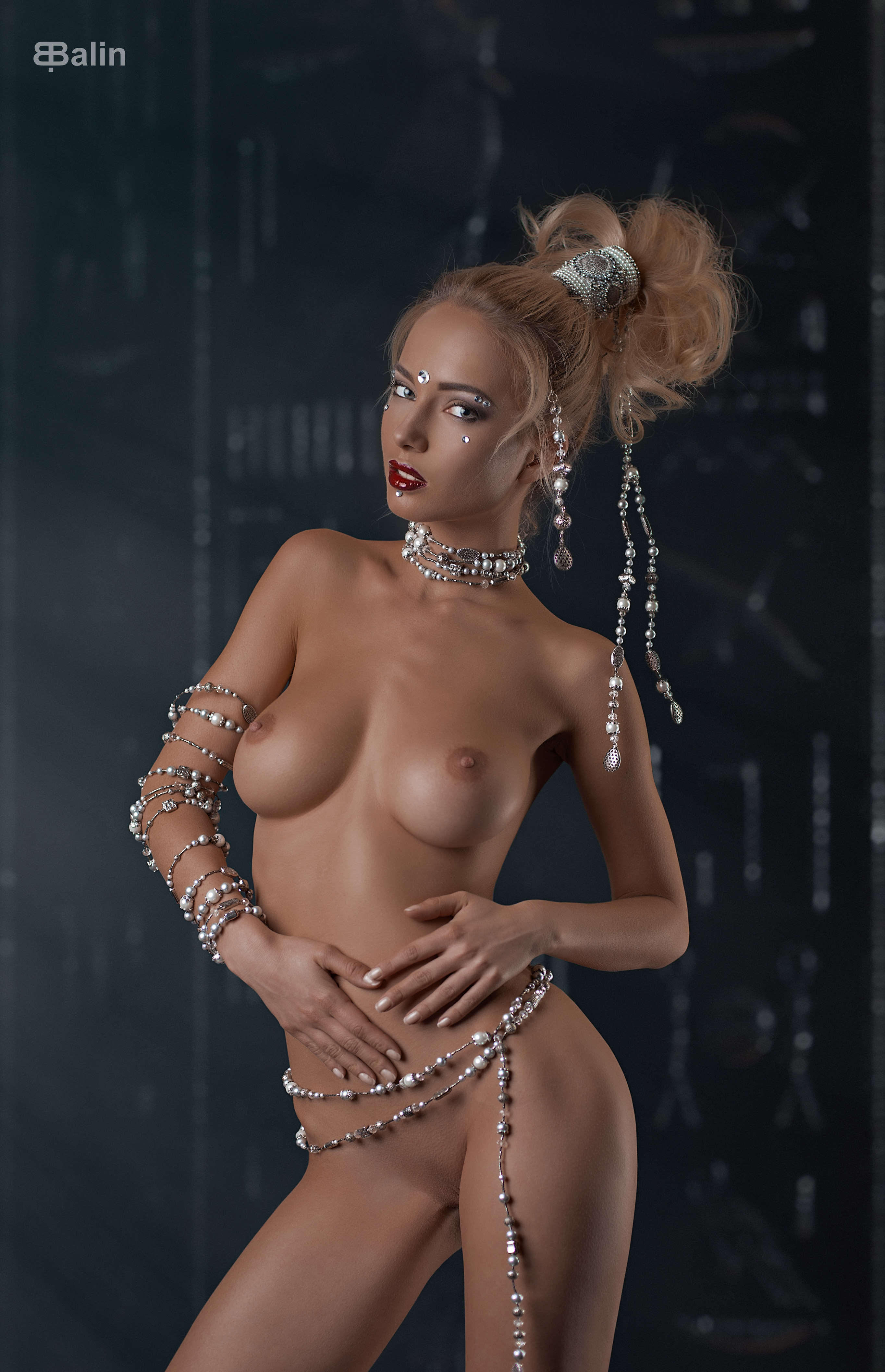 голая Наталья Андреева / Natalya Andreeva nude by E.Balin