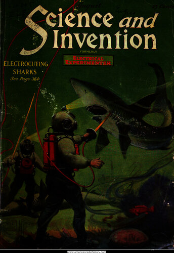 Science & Invention: 1920 August - - Book Cover