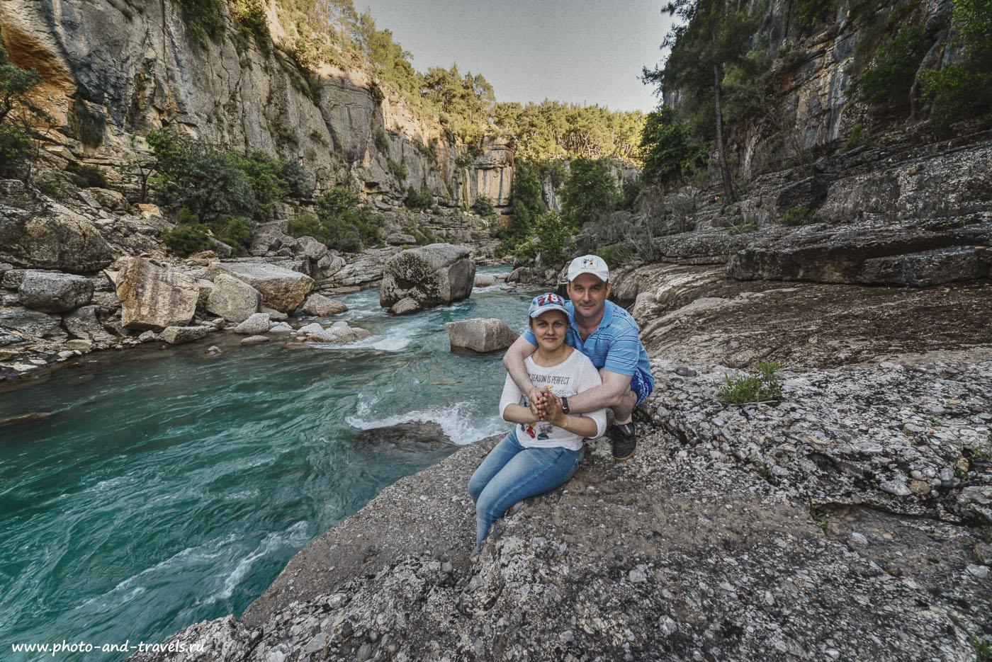 Фото 11. Фотосессия на реке Кёпрючай в каньоне Кёпрюлю в Турции. Отзывы туристов из России об отдыхе в Анталии. На какие экскурсии можно съездить.