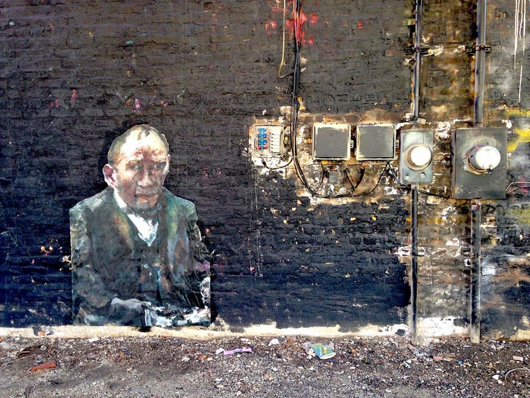 Street Art and Classical Painting - The latest creations from the Outings Project