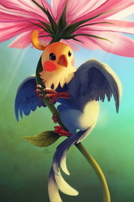 Beautiful Manga Art by Eric Proctor