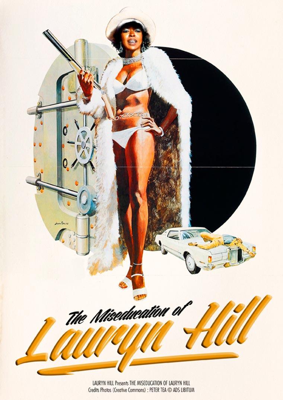 MusiXploitation - Transformer les musiques cultes en affiches de films