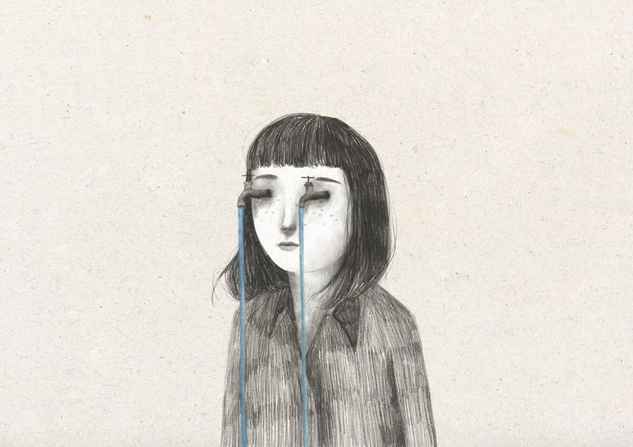 Surreal and Delicate Illustrations by Lorenzo Sangio