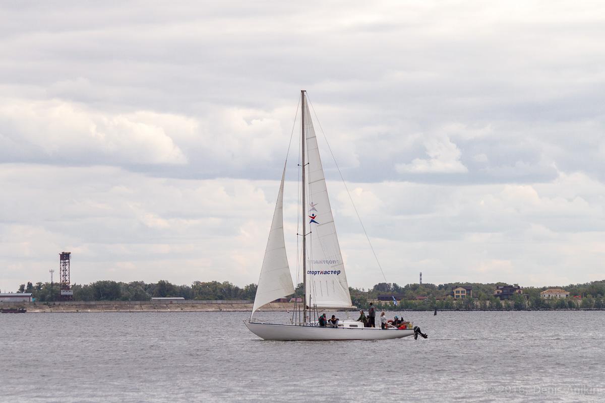 Яхты на Волге 19