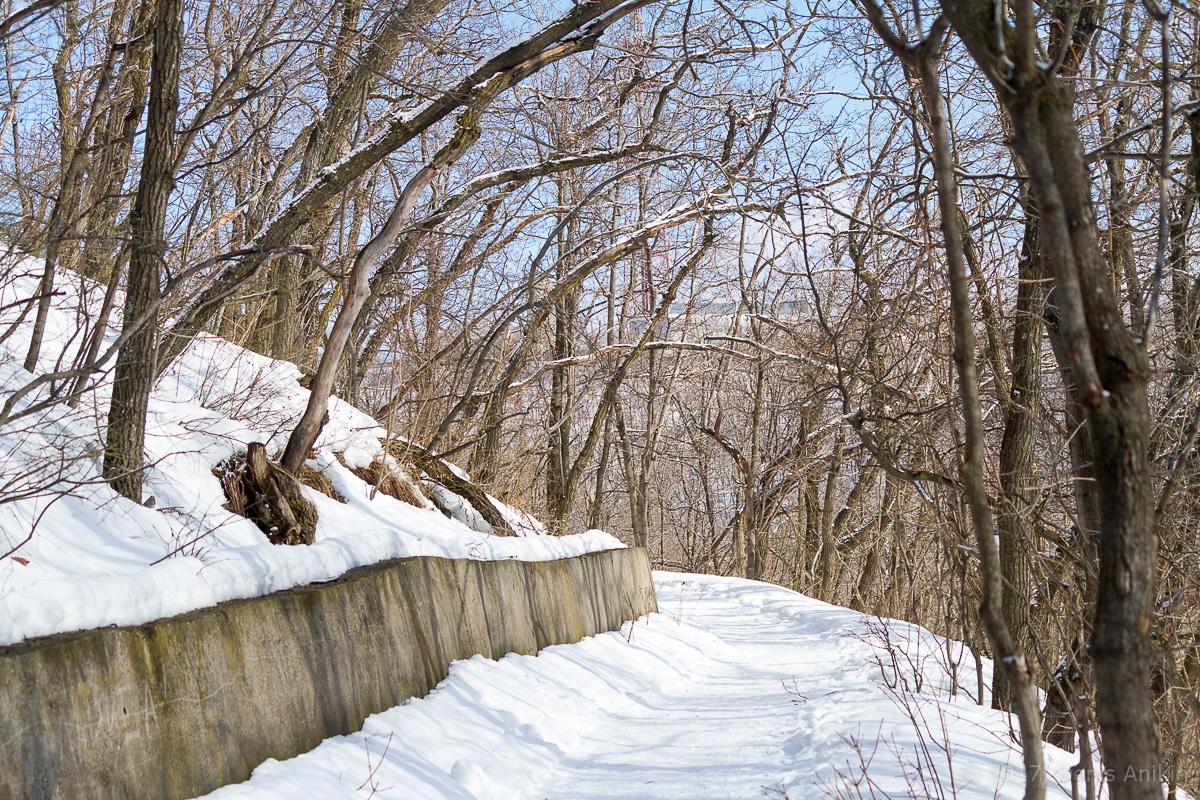 терренкур октябрьское ущелье зима Саратов фото 7
