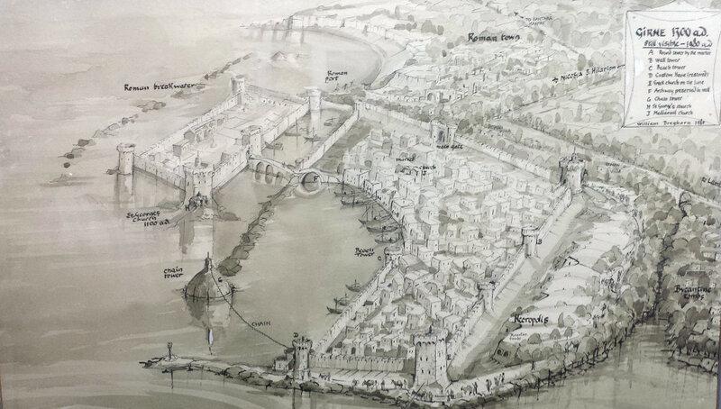 Кирения. Реконструкция города 1300 год (Willian Dreghorn)