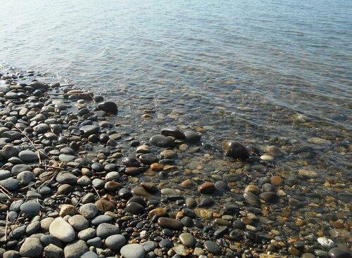 Прозрачность мартовской спокойной воды Азовского моря ... DSCN1278.JPG