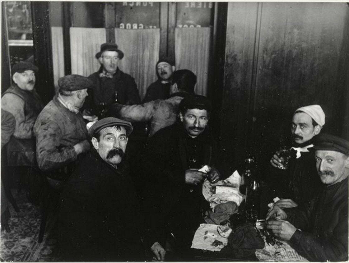 1931. Ужин ассенизаторов