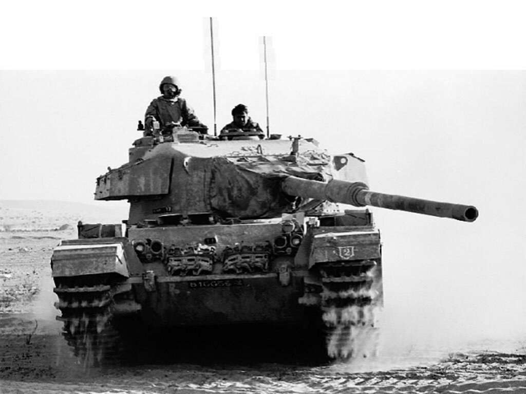 Израильский танк на Синае