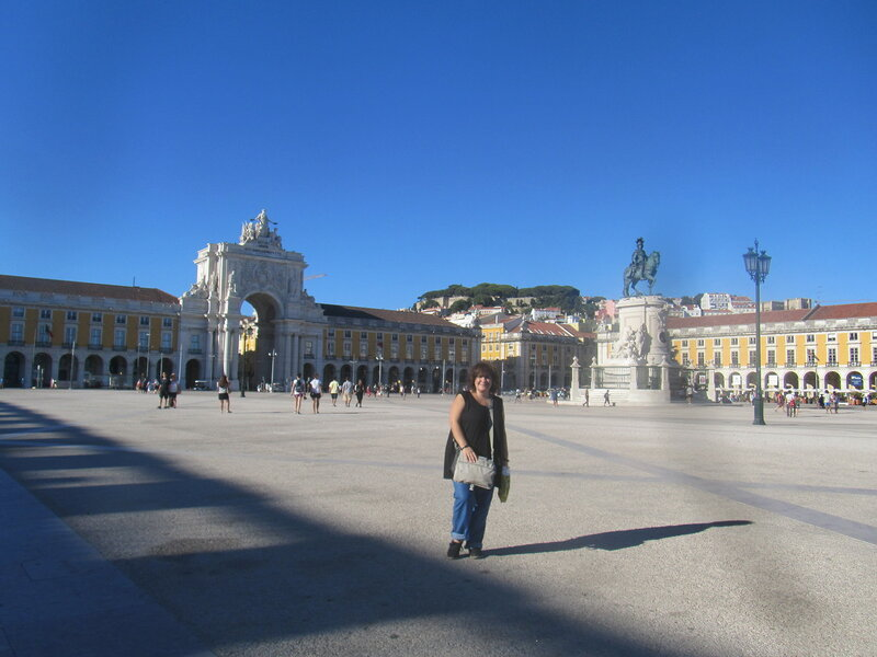Португалия Лиссабон площадь Коммерсиу я.JPG