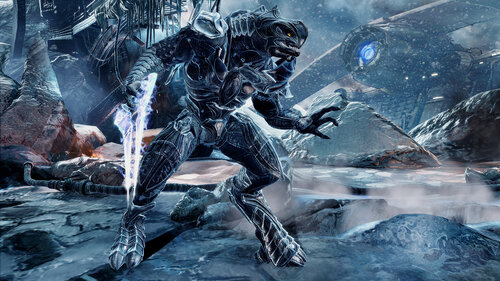 Арбитр из Halo 2: Anniversary - цветовая схема №1