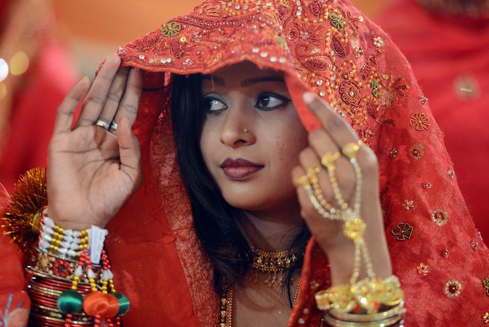 Массовая свадьба в Карачи