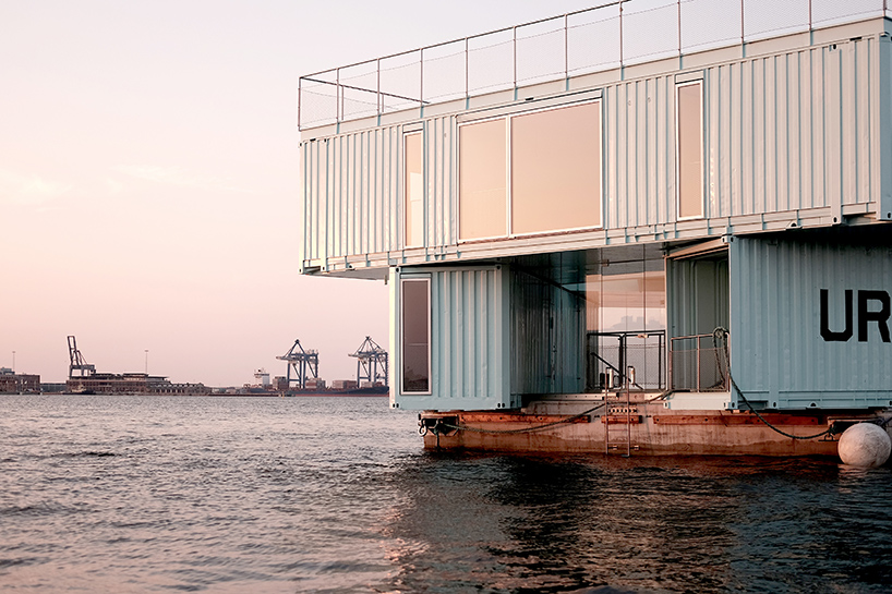 Студенческий кампус из контейнеров в Копенгагене