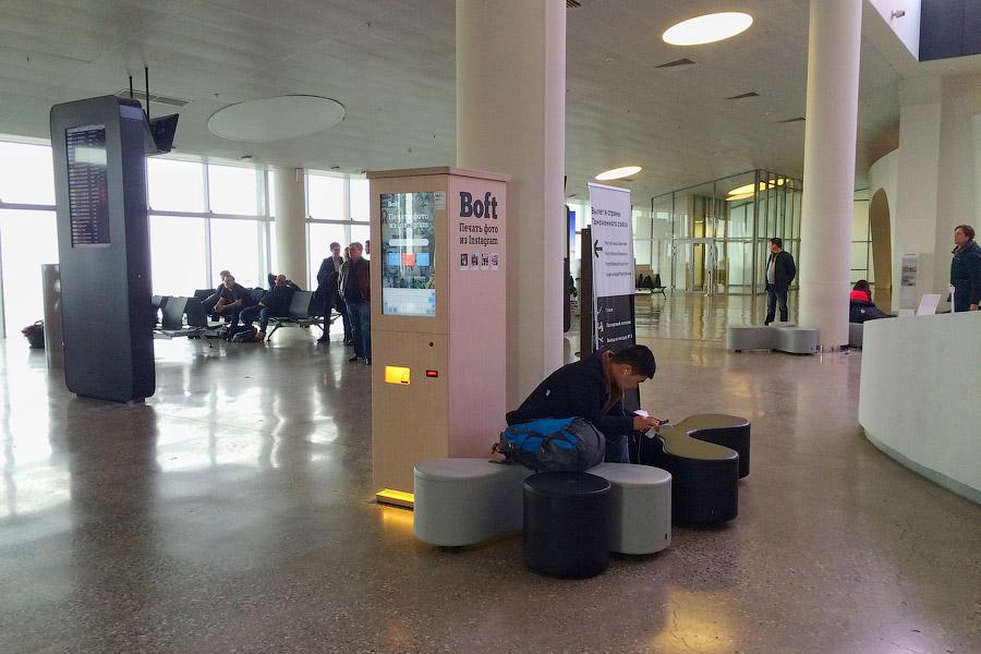 18. В новом терминале работают целых 7 телетрапов, из которых 2 — двойные. Кстати, максимальная
