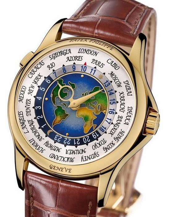 3. Patek Philippe, 1939 Platinum World Time $ 4 млн Часы Patek Philippe стали известными почти сразу
