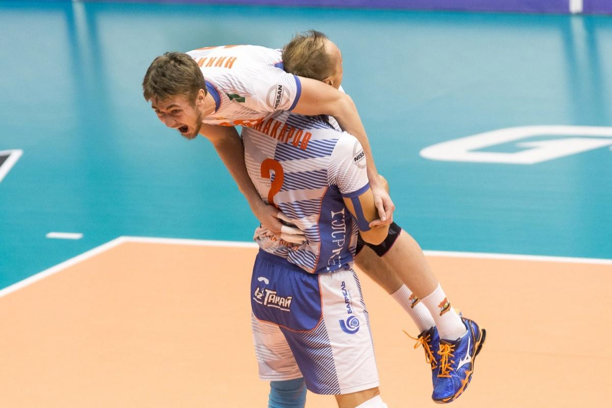 «Кузбасс» и«Динамо» одержали победы в следующем туре Суперлиги