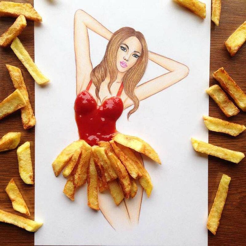 Food Fashion — фотографии необычных эскизов Эдгара Артиса