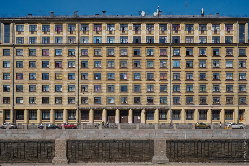 общежитие СПбГАСУ
