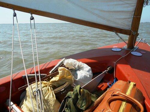 В день жаркий, на яхте, к оводам и комарам. 2016-06-19