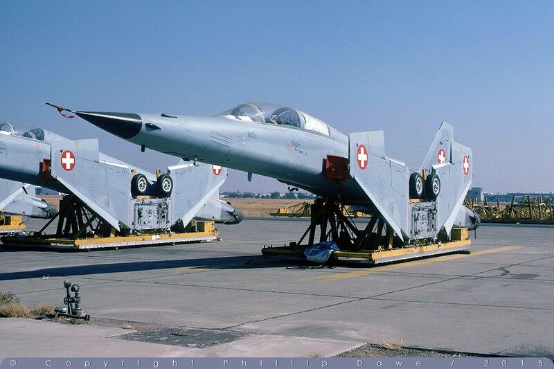 J-3206 - F-5F Tiger II - Swiss Air Force - McClellan AFB - 10-Oct-78