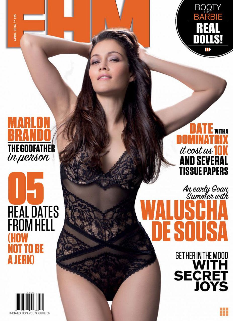 Waluscha de Sousa / Валюша де Соуза в журнале FHM Индия, апрель 2016