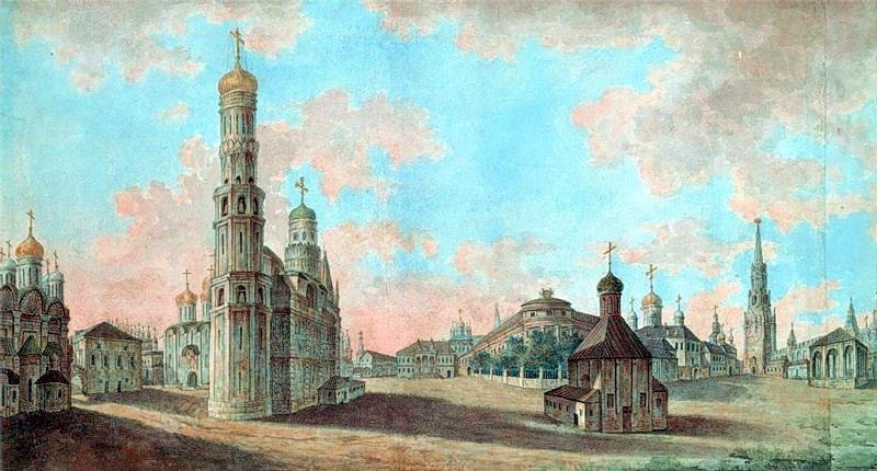 Допожарная Москва 1800-х годов