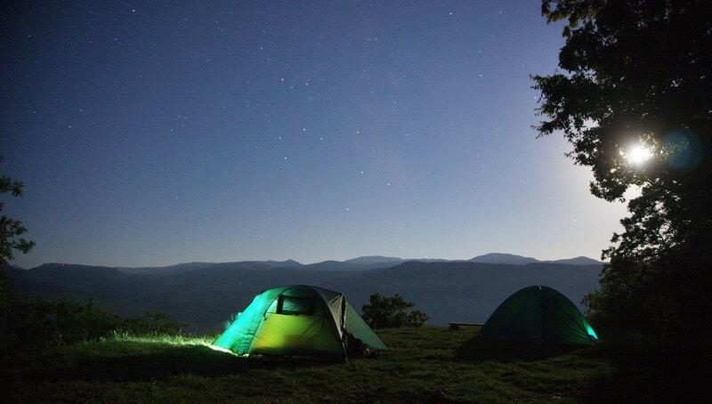 Наш лагерь под луной