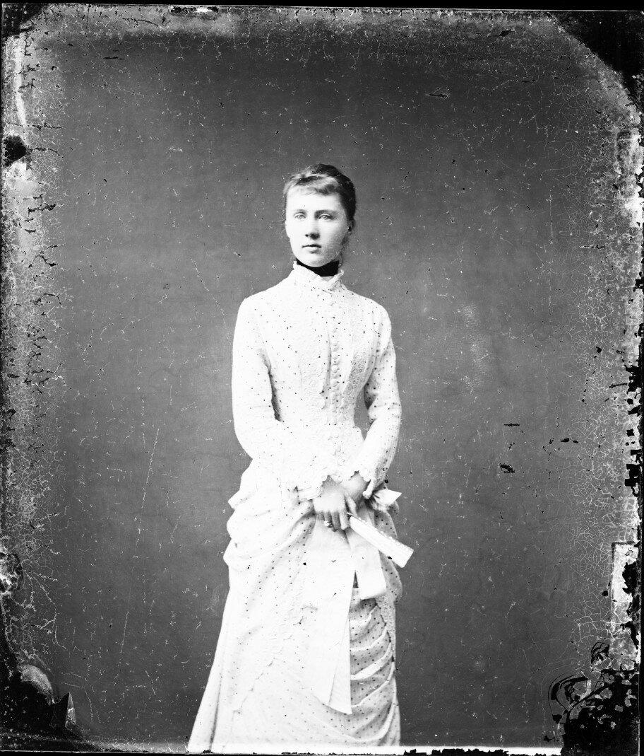 1880. Елизавета Августа Мария Агнесса, принцесса Саксен-Альтенбургская