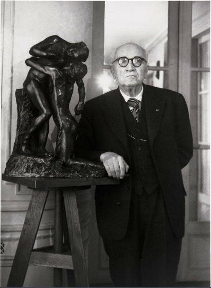 1949. Поль Клодель у себя дома
