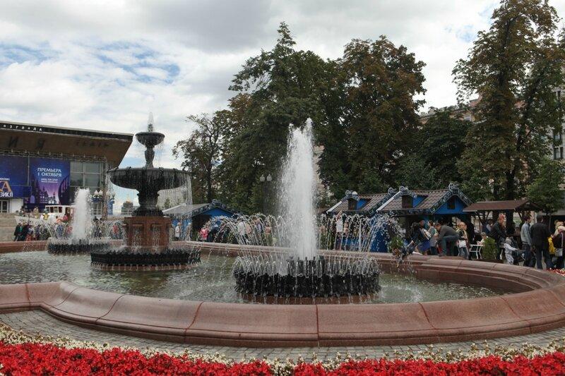 Москва, день города, 869 лет, Тверская улица