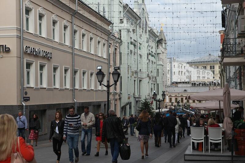 Москва, день города, 869 лет
