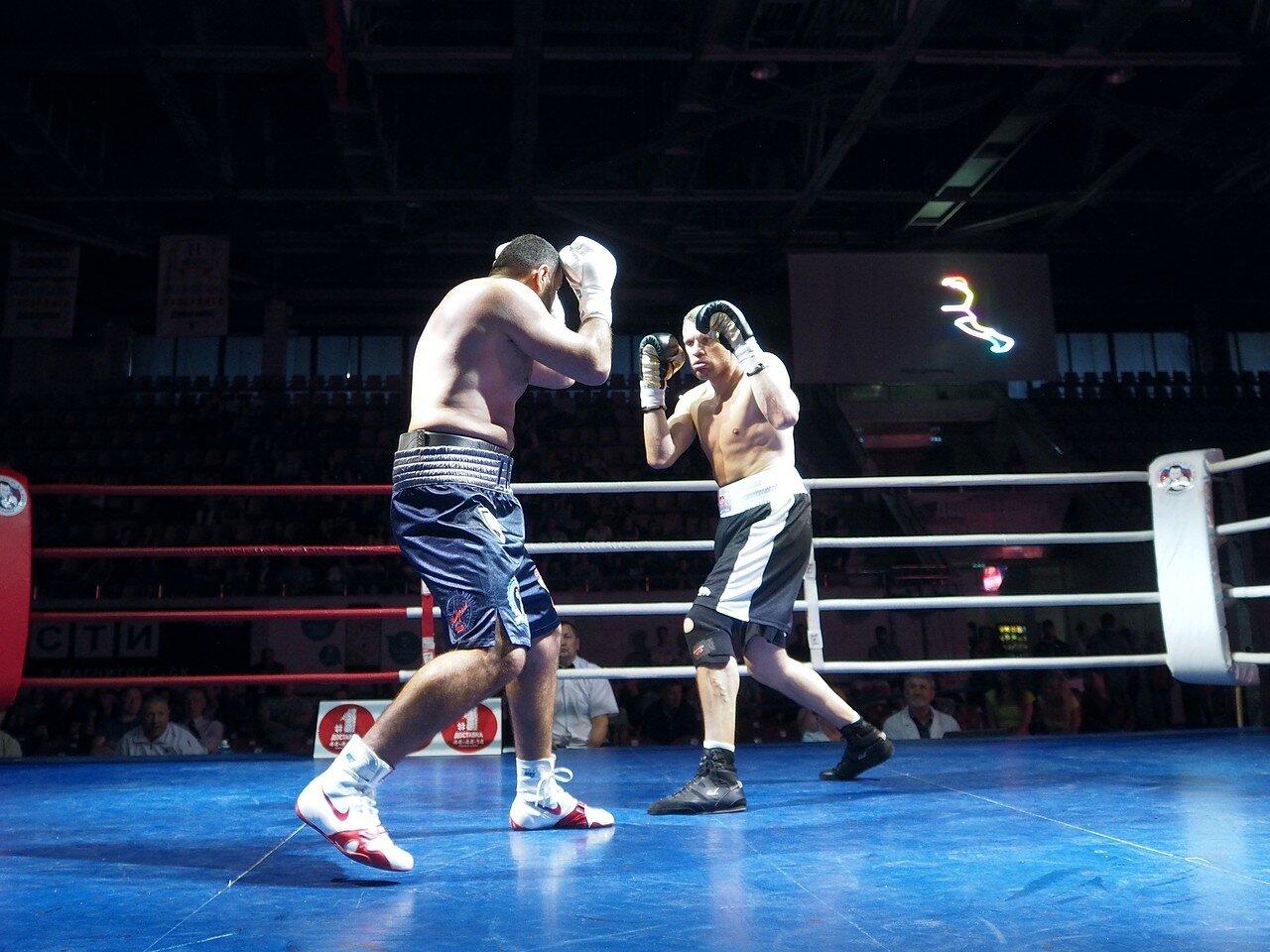 23 Вечер профессионального бокса в Магнитогорске 06.07.2017