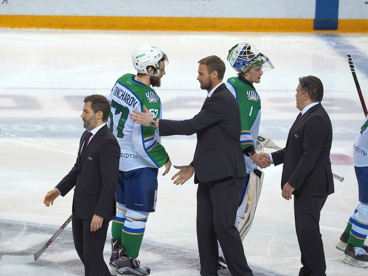 93Плей-офф 2016 Восток Финал Металлург - Салават Юлаев 31.03.2016