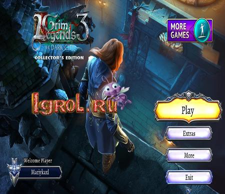 Grim Legends 3: The Dark City Collectors Edition
