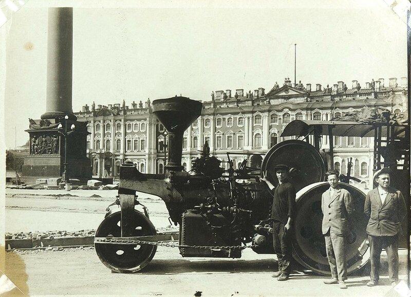 1932 Архив фотографий реконструкции Дворцовой площади (пл. Урицкого).jpg