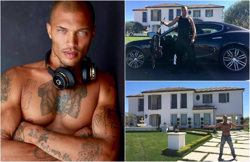 «Самый горячий преступник в мире» приобрел суперкар за $150 000 и роскошный особняк