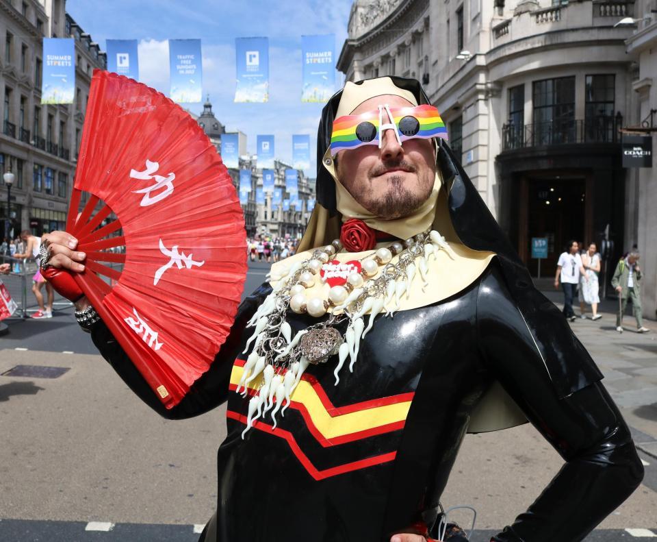 Геи в центре Лондона
