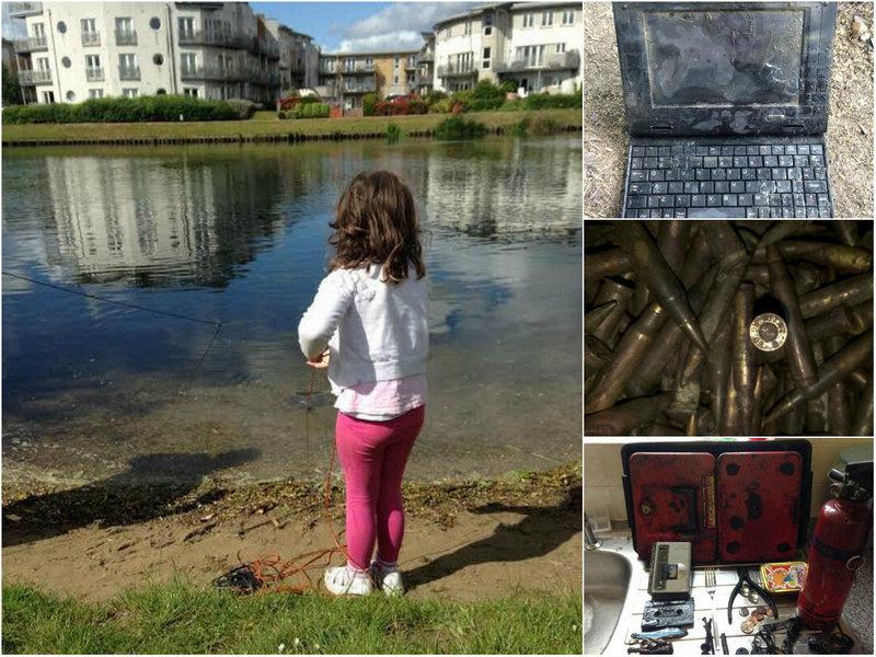 Богатый улов 6-летней девочки