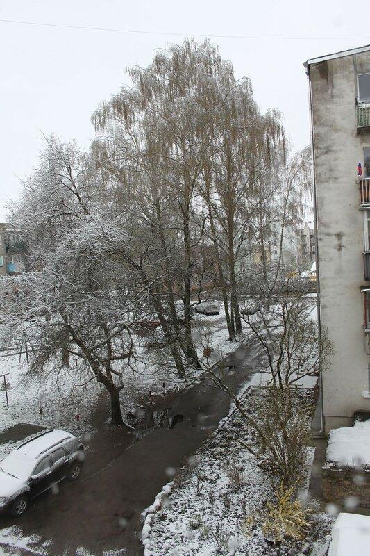 пасхальный снег