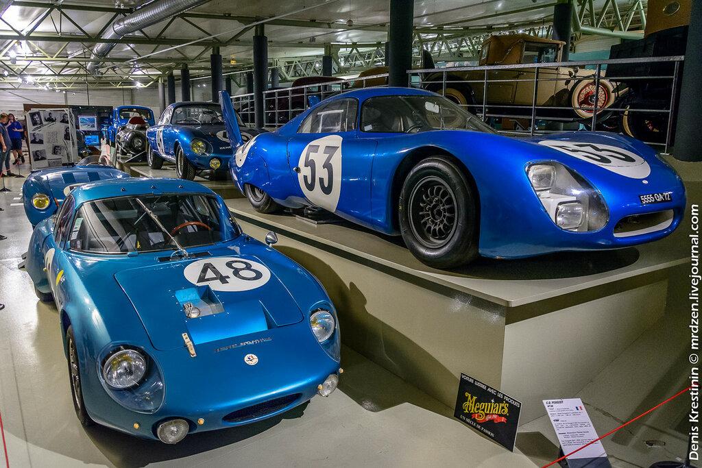 C.D. Peugeout SP66 1967 г. и Rene Bonnet Aerodjet LM6