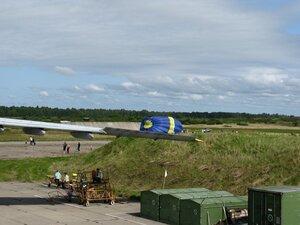 День воздушного флота на аэродроме в Кречевицах - подготовка теплового аэростата к полёту