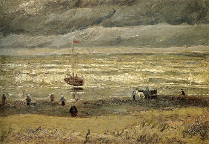 Картины Ван Гога Винсент ван Гог, нидерландский художник-постимпрессионист, за десять с небольшим ле
